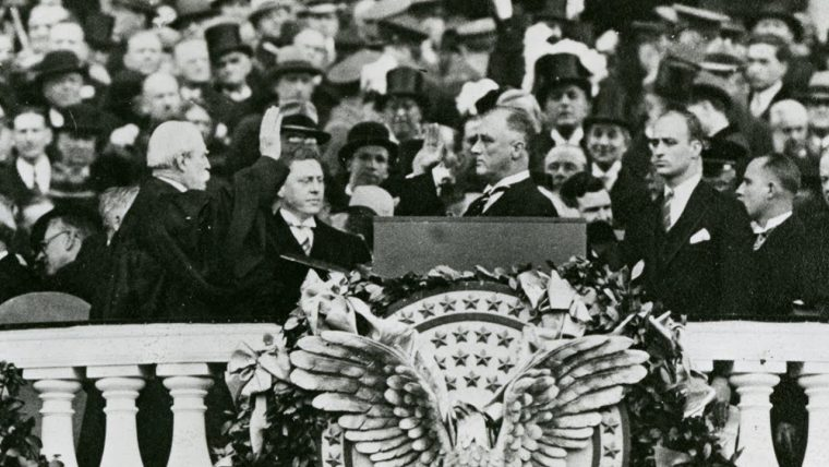 Franklin Delano Roosevelt: First Inaugural Address