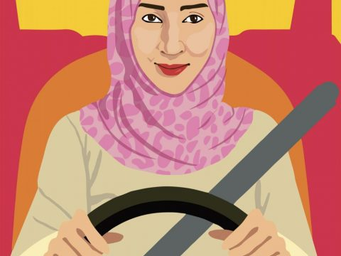 Manal al-Sharif, The Drive for Freedom, 2012