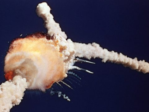 """Ronald Reagan: The Space Shuttle """"Challenger"""" Tragedy Address"""