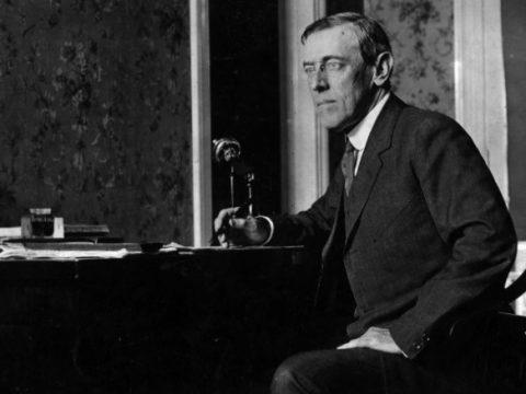 Thomas Woodrow Wilson: War Message