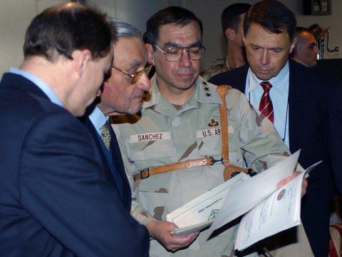 Ricardo Sanchez: Military Reporters and Editors Forum Luncheon Address